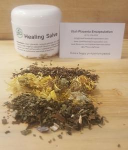 Healing placenta cream
